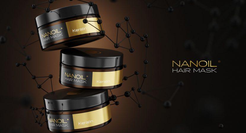 Nanoil effektiv mask med keratin